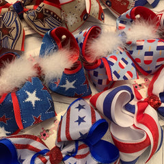 Patriotic/July 4th Bows