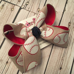 Sports Themed Bows