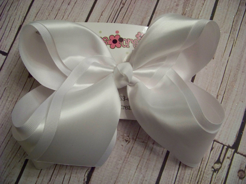 Jumbo Satin Ribbon Layered Bows