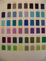 Karens Creations Solid Color Chart #1