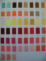 Karens Creations Solid Color Chart #2