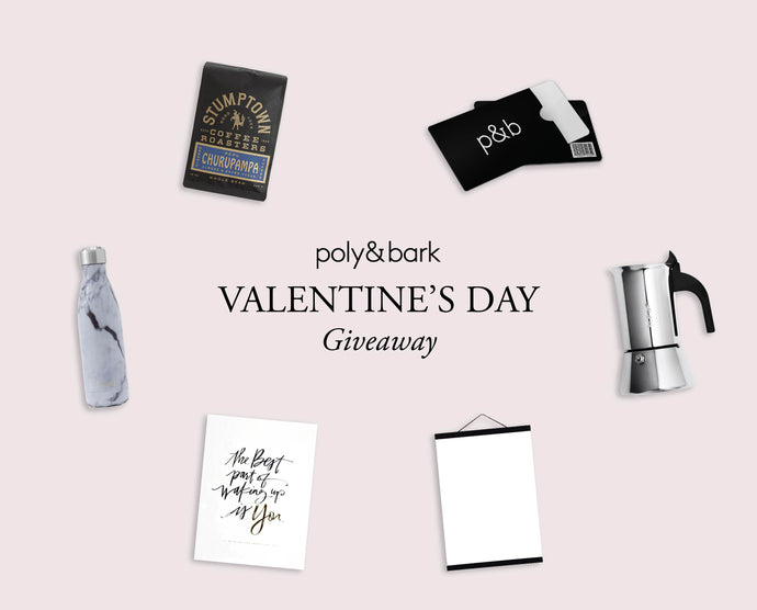 It's a Valentine's Day Giveaway!