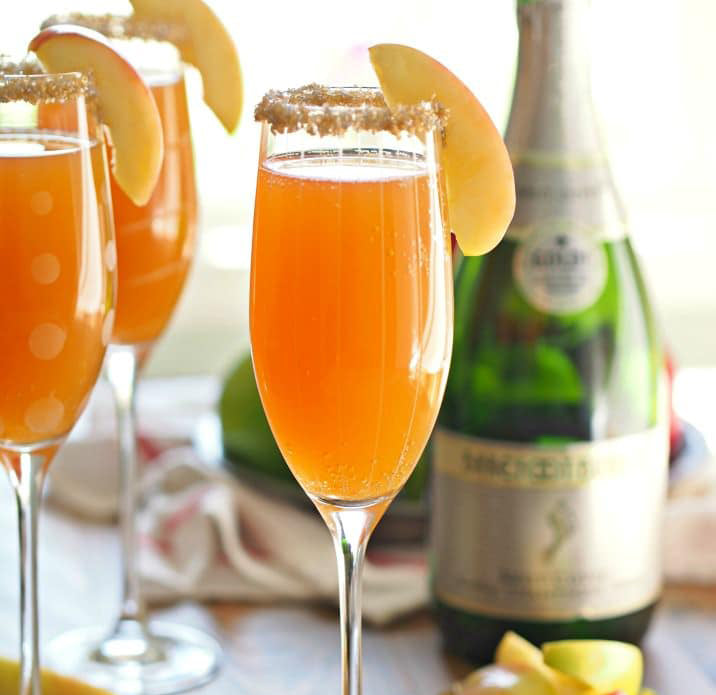 🥂 Perfect Apple Cider Mimosa - Recipe