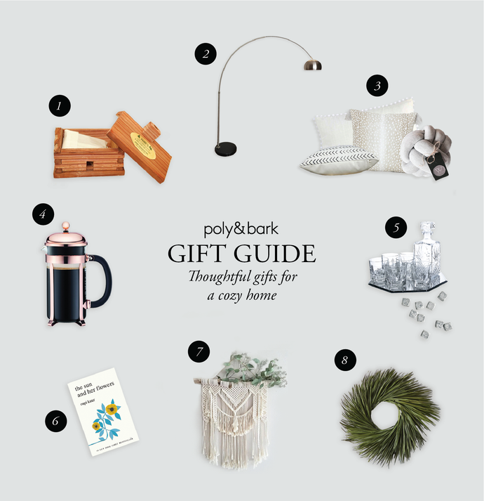 Holiday Gift Guide - Thoughtful gifts for a cozy home