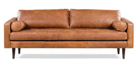 Napa Sofa in Cognac Tan