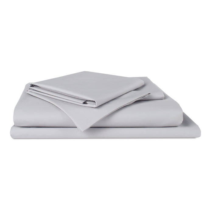 Holy Sheets Sateen Bundle - Includes: 1 Flat Sheet, 1 Fitted Sheet, and 2 Pillowcases
