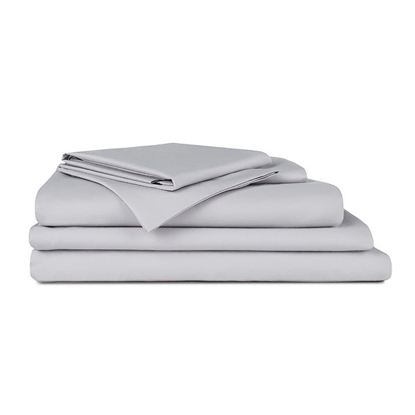 Heavenly Sateen Bundle - Includes: 1 Flat Sheet, 1 Fitted Sheet, 1 Duvet Cover, and 4 Pillowcases
