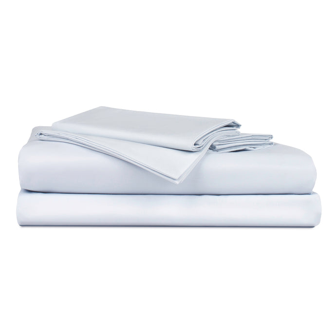 Holy Sheets Percale Bundle - Includes: 1 Flat Sheet, 1 Fitted Sheet, and 2 Pillowcases