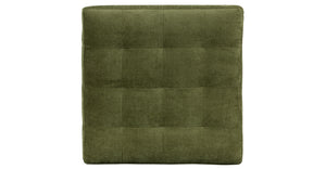 Distressed Green Velvet
