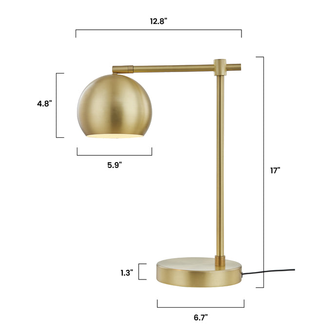 Brushed Brass, demisions