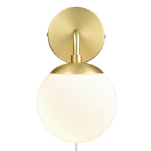 Load image into Gallery viewer, Brushed Brass/White