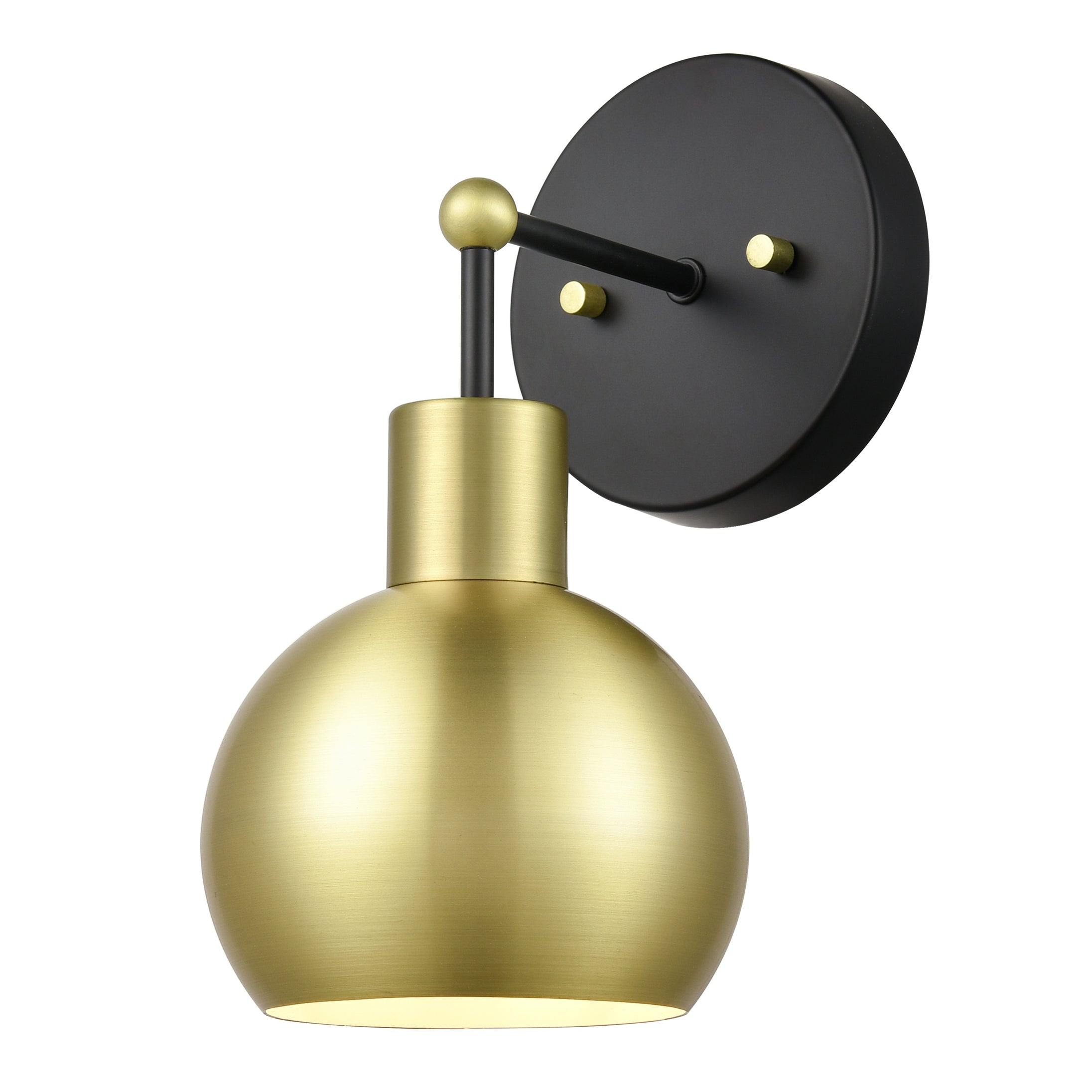 Black - Antique Brass
