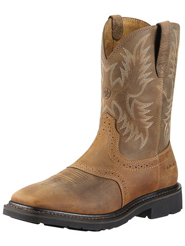 Ariat Sierra Wide Square Steel Toe - Aged Bark