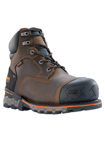 "Timberland PRO Boondock 6"" Waterproof Composite Toe - Brown Oiled Distressed"