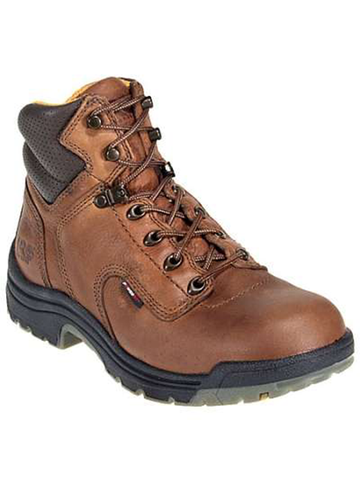 "Timberland PRO Titan 6"" - Coffee Full-Grain Leather"