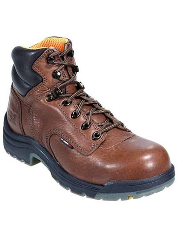 "Timberland PRO Titan 6"" Composite - Coffee Full-Grain Leather"