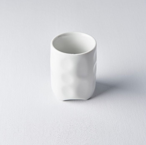 White Chiselled Look Sushi Mug