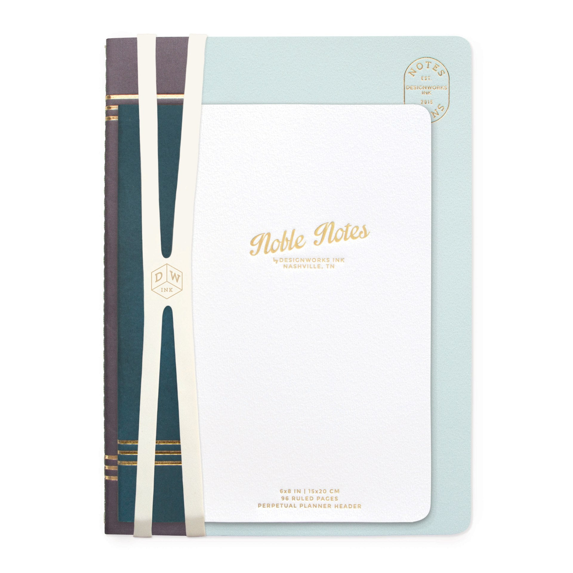 Duo Noble Notes Notebooks