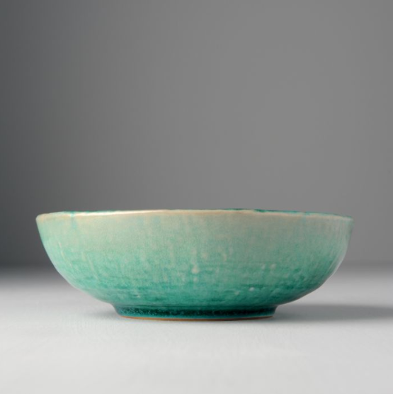 Jade Medium Shallow Bowl