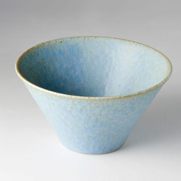 Blue Fade Large V Shape Bowl