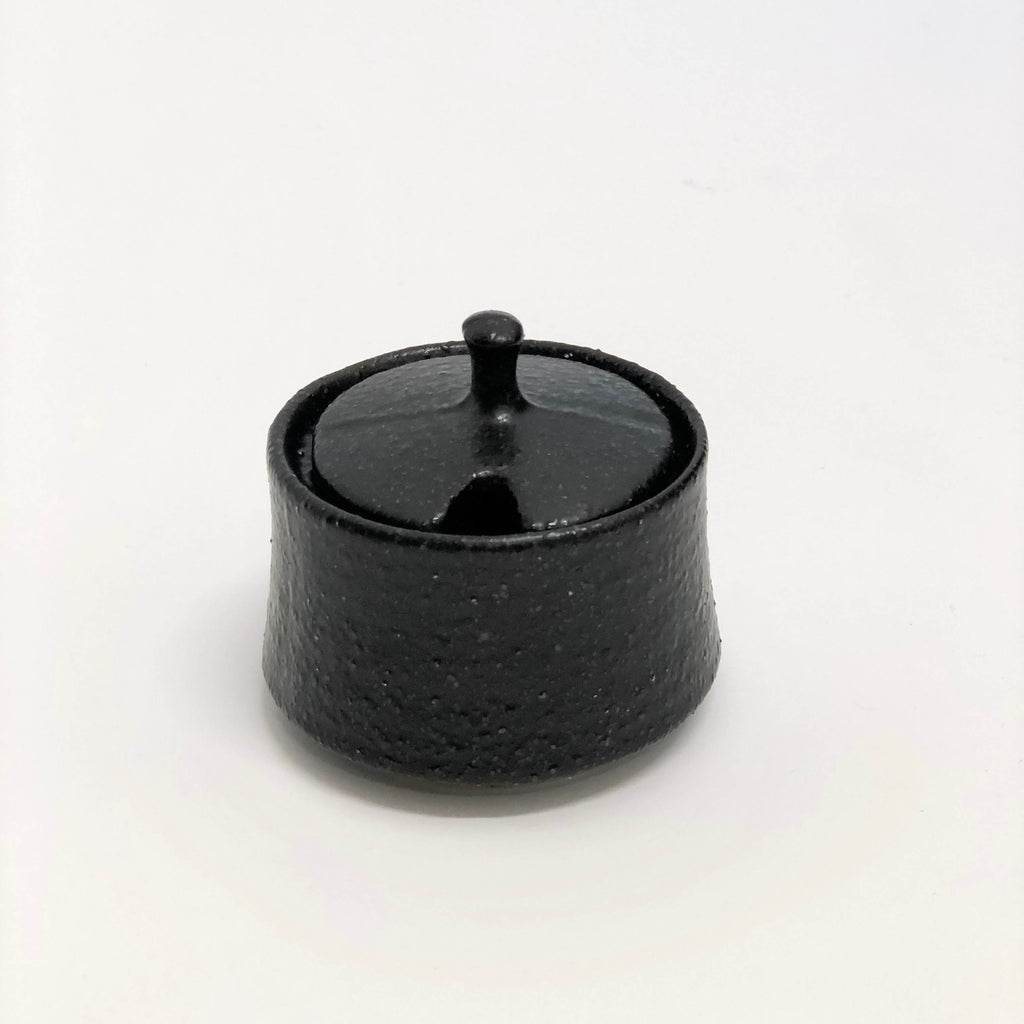 Matte Black Sugar Pot