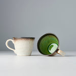Lime Green Mug with Handle