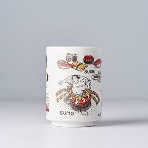 Sightseeing Japan Sushi Mug