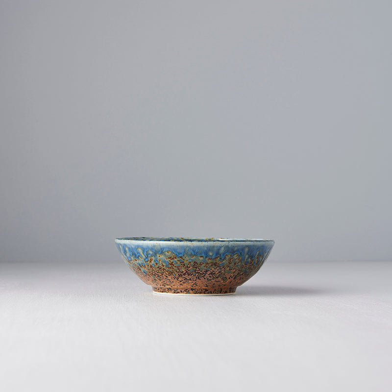 Earth & Sky Small Shallow Bowl