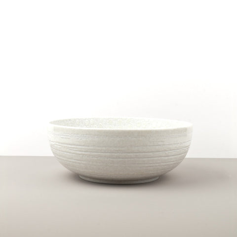 White Star Deep Serving Bowl