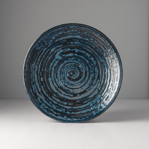 Copper Swirl Dinner Plate