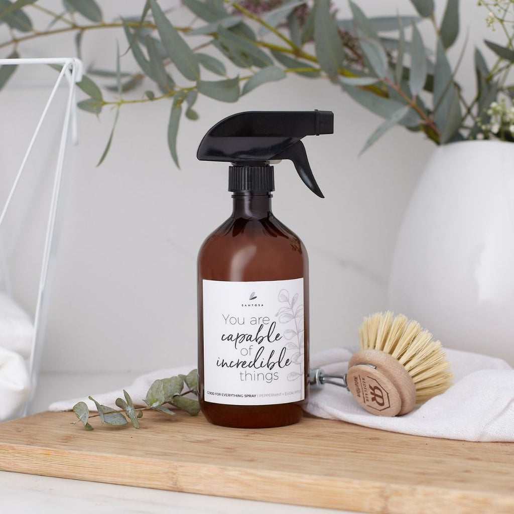 Peppermint & Eucalyptus Spray - Santosa Good For Everything Cleaning Spray