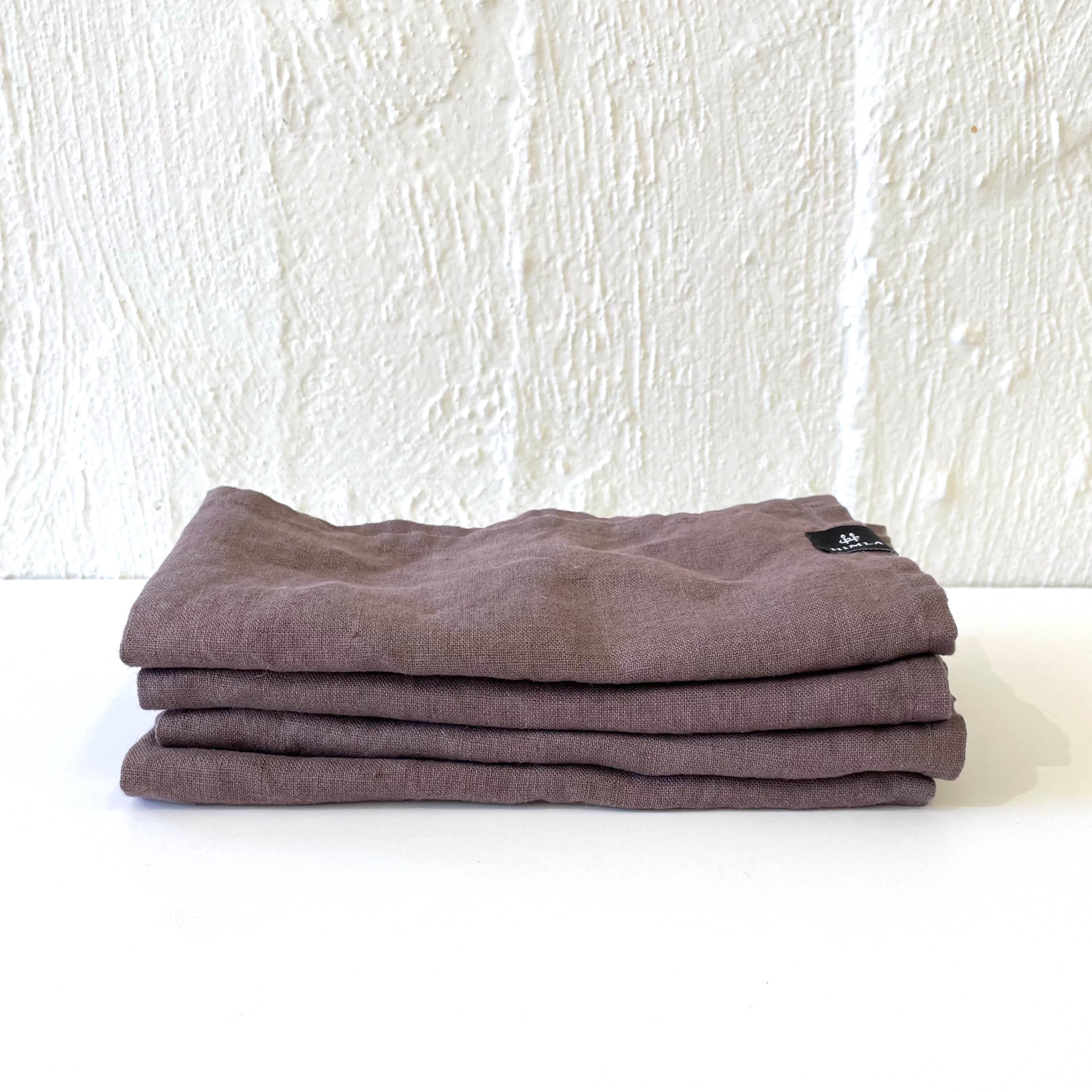 Himla Linen Napkin Mauve - Set of 4
