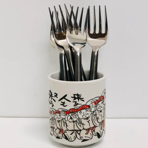 Dinner Fork Black Handle