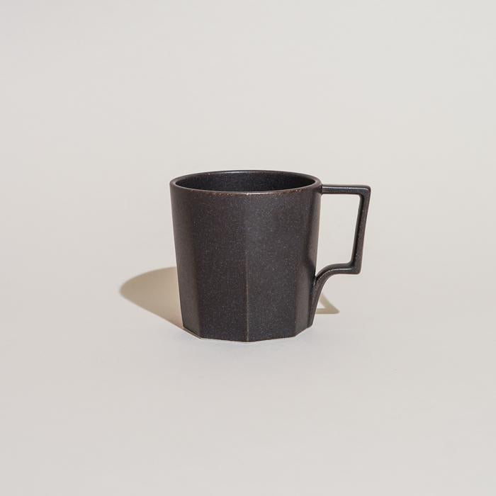 Kinto Oct Mug in Black 300ml