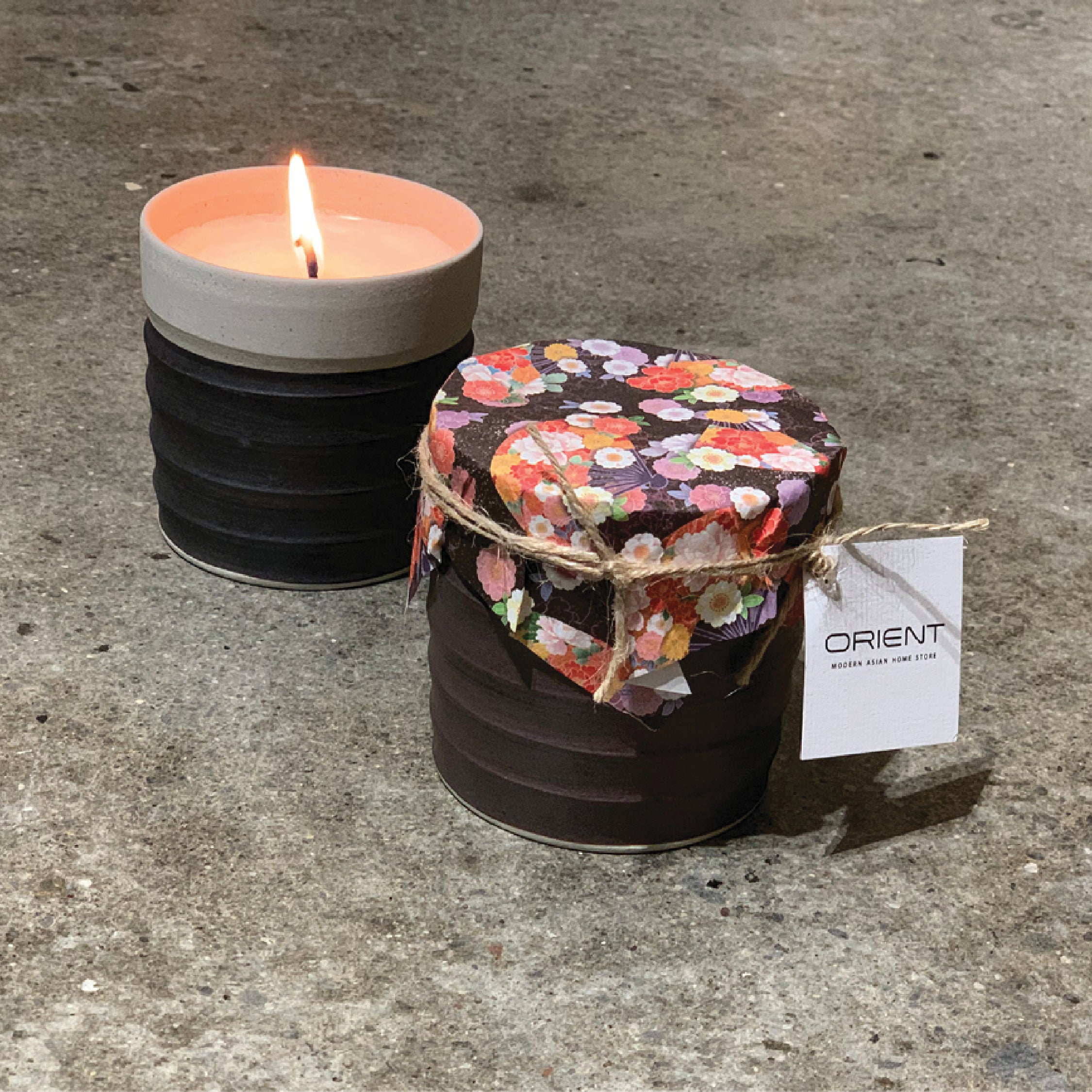 Bamboo & White Lily Soy Candle 350ml