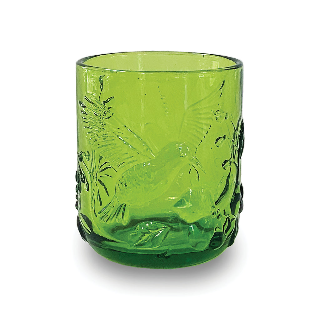 Noon Rainforest Glass Green Tumbler