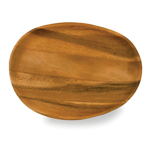 Natural Oval Serving Tray Large