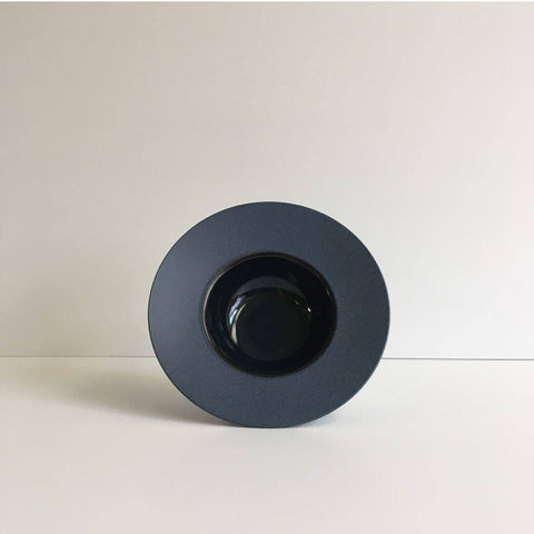 Navy Blue Wide Rim Small Bowl