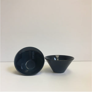 Navy Blue Small V Bowl