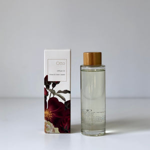 Diffuser Oil OTTO Roses & Green Leaves 100ml