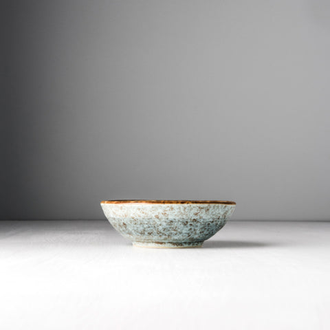 Blue Blossom Small Shallow Bowl