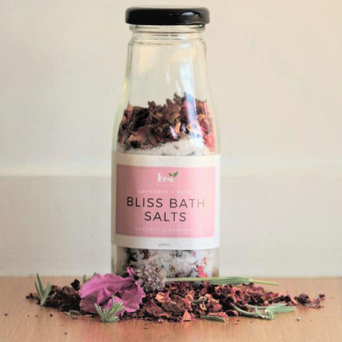 Lavender & Rose Bliss Bath Salts - Koa Organics