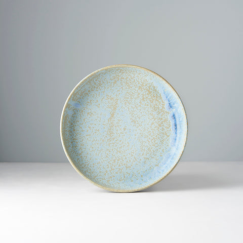 Blue Fade Shallow Plate