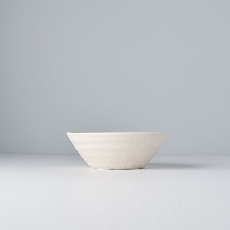 Recycled White U Shape Bowl