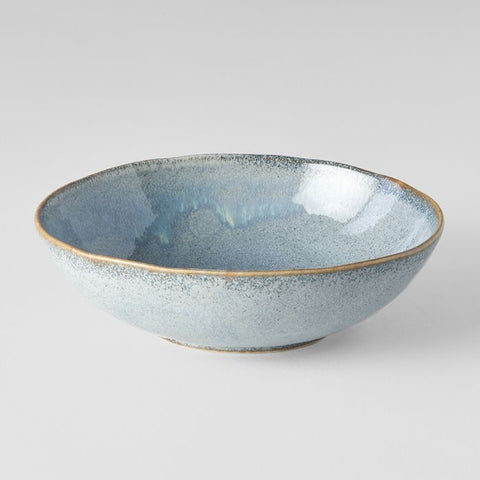 Steel Grey Medium Open Oval Bowl