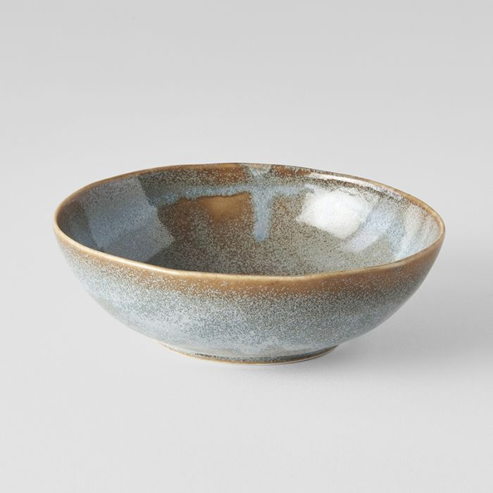 Steel Grey Small Open Oval bowl