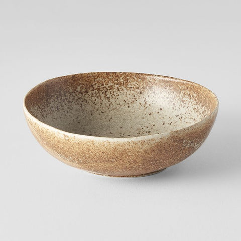 Sand Fade Small Open Oval Bowl