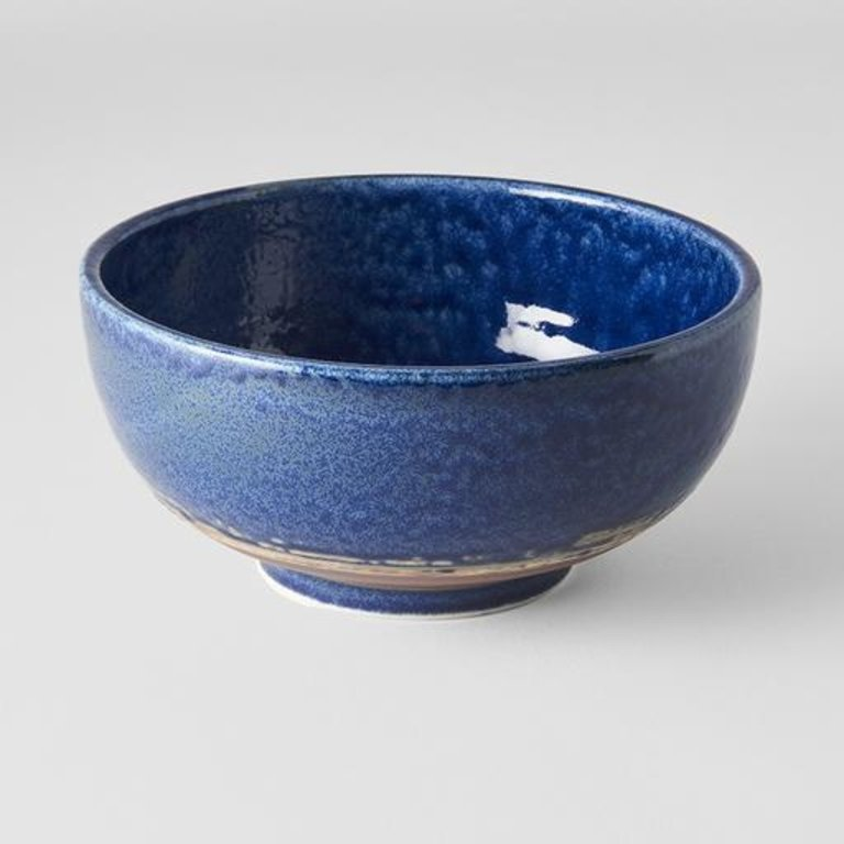 Azure Large Round Deep Bowl