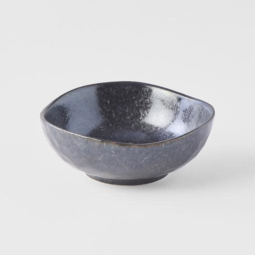 Matte Black Small Uneven Bowl