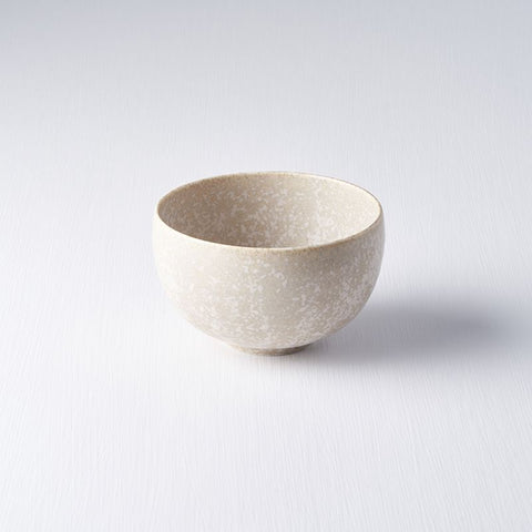 White Fade Small U Shape Bowl